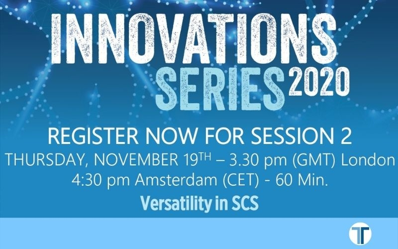 Live Webinar: Versatility in SCS by Innovations Series